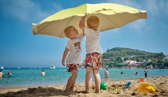 Precauciones para el cuidado de niños en verano