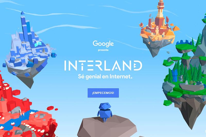 Google Interland, el Videojuego para que los Niños aprendan sobre Seguridad  en Internet